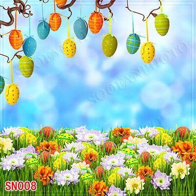 Справочный материал Easter Day 10'x10' Computer-painted