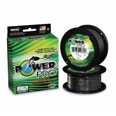 Power Fishing (Power Pro Spectra Braid Fishing Line 20 lb Test 500 Yards Yds Moss Green)