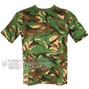Kids Camouflage T Shirt