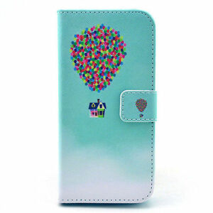 iPhone 6 / 6s Beautiful Colored Leather Flip Cases (b)