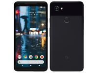 New Unlocked Google Pixel 2 XL 64 GB Black.
