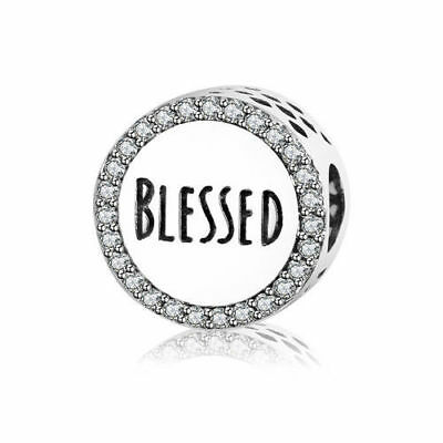 Beautiful Pandora Blessed Charm 100% S925 Sterling Silver Best Mother's Day Gift - Mother's Day Charms