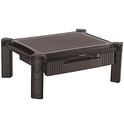 (Monitor Riser - Drawer - Height Adjustable - Computer Monitor Riser (monstadjd))