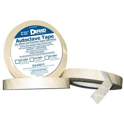 Defend 1 X 60 Yds Roll Autoclave Sterilization Indicator Tape