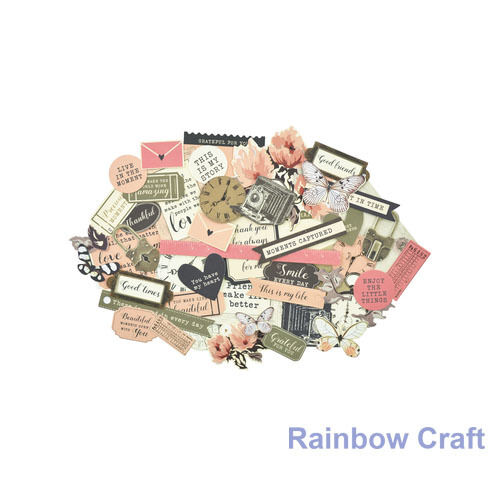 2016-2019 Kaisercraft Die Cuts Scrapbooking collectables 62 option Embellishment - Keepsake