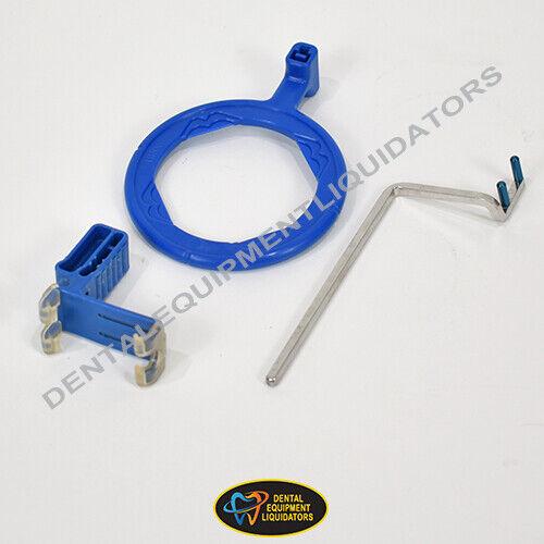 Dental X-Ray Sensor Holder Kit Anterior Digital BiteBlock with Aiming Ring