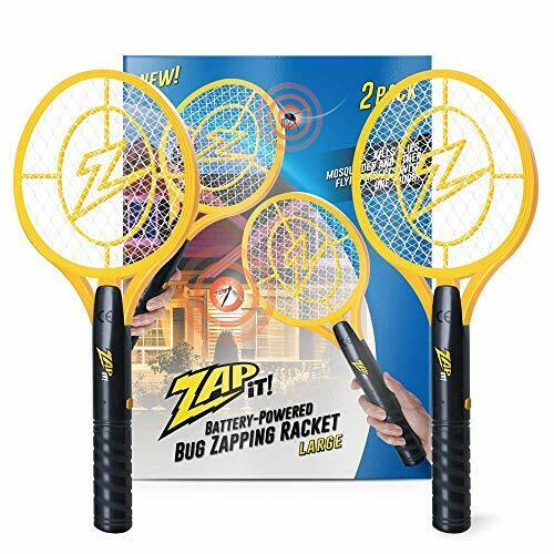 ZAP IT! Bug Zapper Twin Pack - Battery Powered (2xAA) Mosquito, Fly Killer