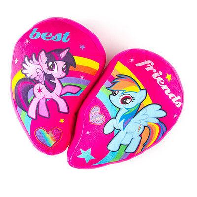 My Little Pony Best Friends Half Heart Pillows Set Rainbow Dash Twilight - - Rainbow Dash Best Pony