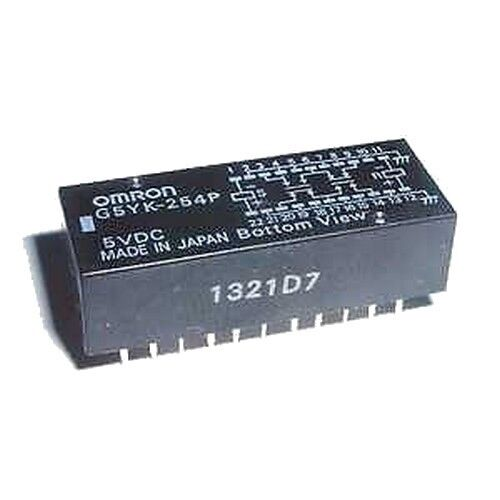 Omron High Frequency Latch Relay G5YK 254P 5V