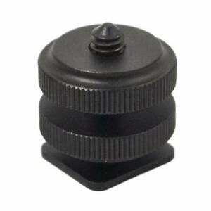 "JJC MSA-3 Hot Shoe Mount 1/4"" Shoe Adapter suits Zoom H1/H4n x2 Eight Mile Plains Brisbane South West Preview"