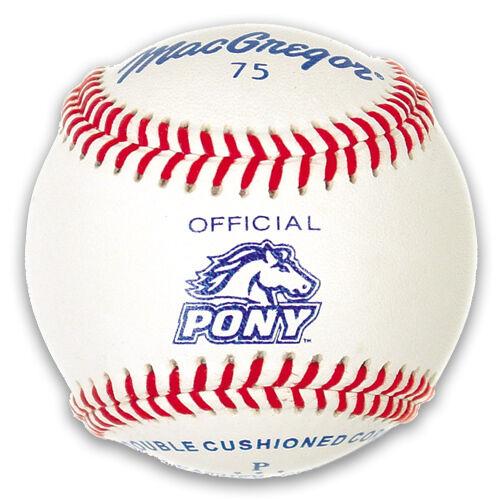MacGregor #75 Official Pony League Baseball (One Dozen) MCB75CXX