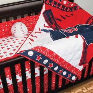 Red Sox  Crib set