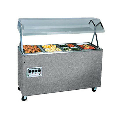 "Vollrath 3873260 60"" Affordable Portable Storage Base Hot Food Station (Granite)"