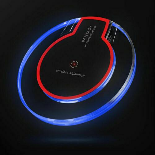 Qi Wireless Charger Charging Pad Receiver Kit Adapter For iP