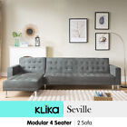 Unbranded Suede Suede Sofas and Couches