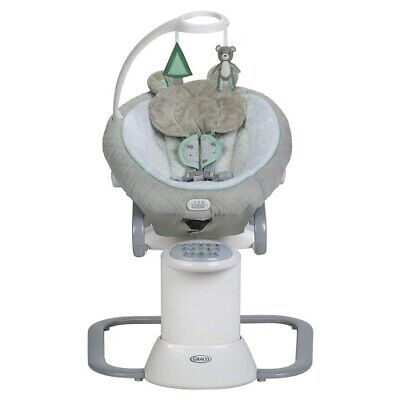 New Graco Baby EveryWay Multi Use Swing Soother with Removable Rocker Tristan