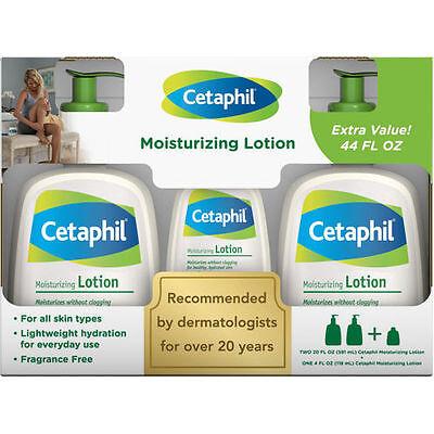 Cetaphil Lotion, 20 Fl Oz Bottle, + 4 Fl Oz Bonus Bottle ...