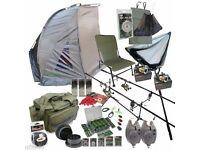 Carp fishing gear set (Never Used)