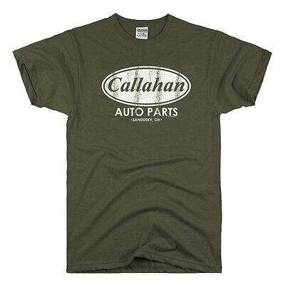 Callahan Auto Parts vintage movie tommy boy fat guy coat retro funny (Parts Cat)
