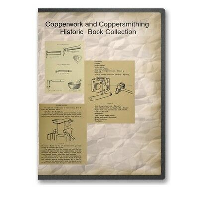 copperwork coppersmithing instruction designs 7 historic books cd b515