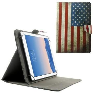 Samsung 9.7 10.1 Inch tablet hoes map cover USA vlag univ...