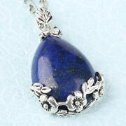 Carved Lapis Pendant
