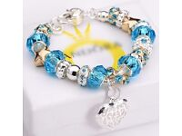 Pan Solid 925 Sterling Silver Jewelry Charm Bracelet Womens Mens Vintage Bangle