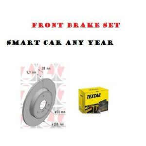 Front Brake set For Smart Car any year