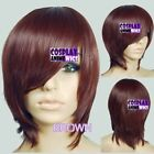 Dark Brown Short Wigs