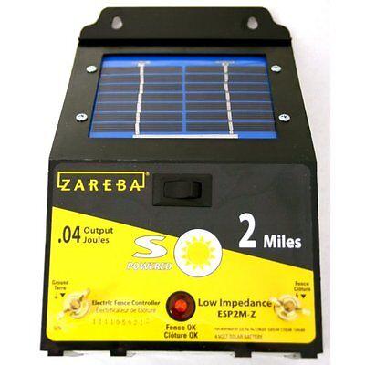 Zareba Esp2m-z 2-mile Solar Fence Charger