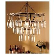 Colored Glass Chandelier