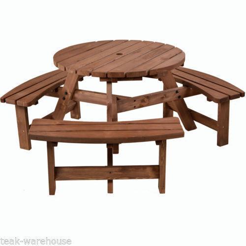 6 Seater Garden Table EBay
