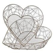 Shabby Chic Wire Basket