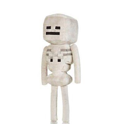 Minecraft Skeleton Plush Toy   New   Free Fast Usa Shipping