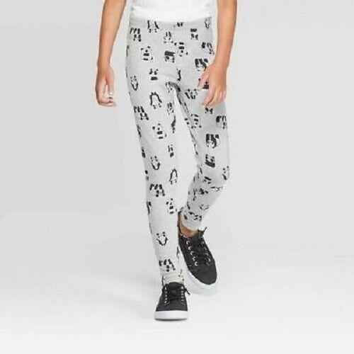 Cat & Jack Girls Panda Bear Fleece Leggings M (7/8) (NWT) Clothing, Shoes & Accessories