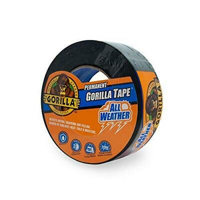 Gorilla All Weather Outdoor Waterproof Duct Tape 1.88 X 25 Yd Black