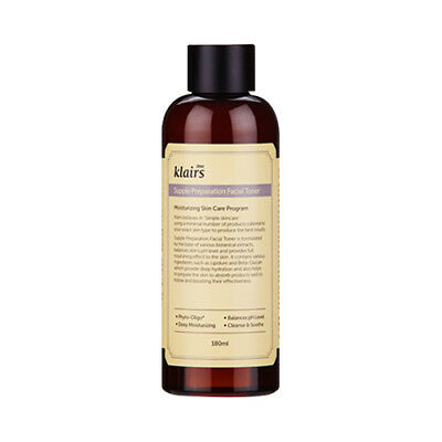 [Klairs] Supple Preparation Facial Toner - 180ml / Free Gift