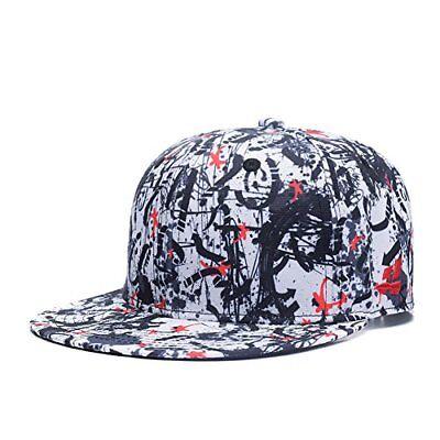Red Dancing Stars Snapback Graffiti Cap Black Flexible Adjustable Hats