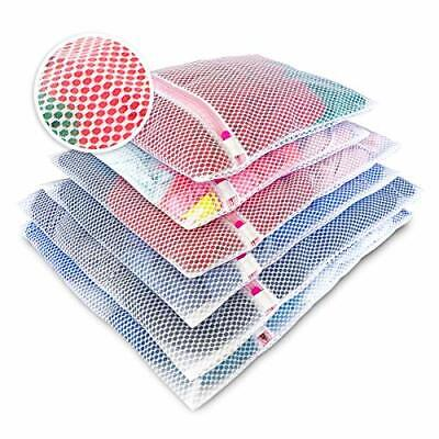 Knitial Mesh Laundry Bags for Washing Machine and Organizer for Travel Delica...