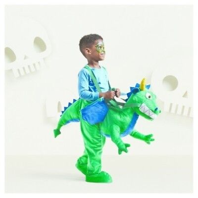 DRAGON RIDER TODDLER COSTUME Hyde & Eek Halloween Kids Green Plush One Size NEW - Dragon Rider Halloween Costume