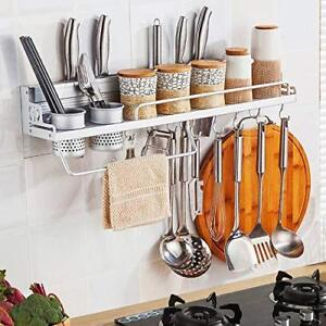Hanging Multi-functional Aluminum Kitchen Wall Rack