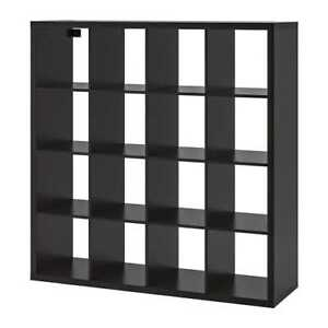 IKEA Expedit 4x4 (Black Brown) - Great Condition - $105 ONLY!