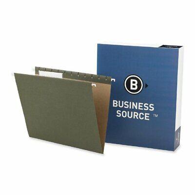Business Source Standard Hanging File Folder - Letter - 8.50 X 11 - 13 Tab
