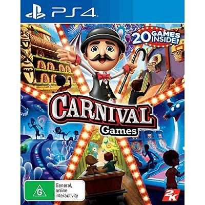 Carnival Games 20 Family Kids Fun Party Game Compilation Sony Playstation 4 PS4 ()