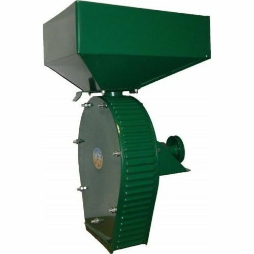 Feed Mill Grinder Grain Wheat Crusher Corn Oats 250Kg/Hour Without Engine