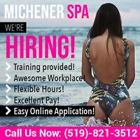 ❤ Seeking Attendants for Guelph Massage Spa ❤