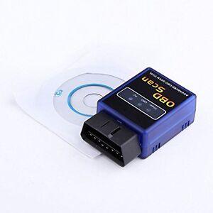 Us Elm327 Car Bluetooth Scantool Obd2 Obdii Scanner For Torque App Android Vgate
