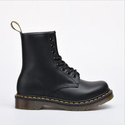 Neu Dr. Martens Doc Boots Stiefel Smooth 8 Eye Loch 1460z Lederstiefel  ()