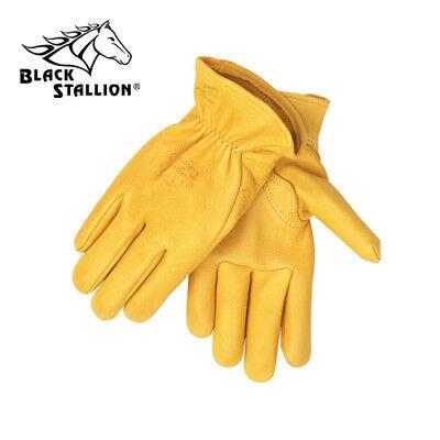 Revco 17-L Premium Grain Elkskin Driving Gloves, Size Large