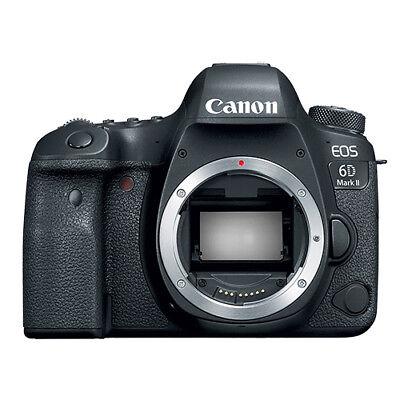 Canon EOS 6D Mark II Digital SLR Camera Body 26.2 MP Full-Frame
